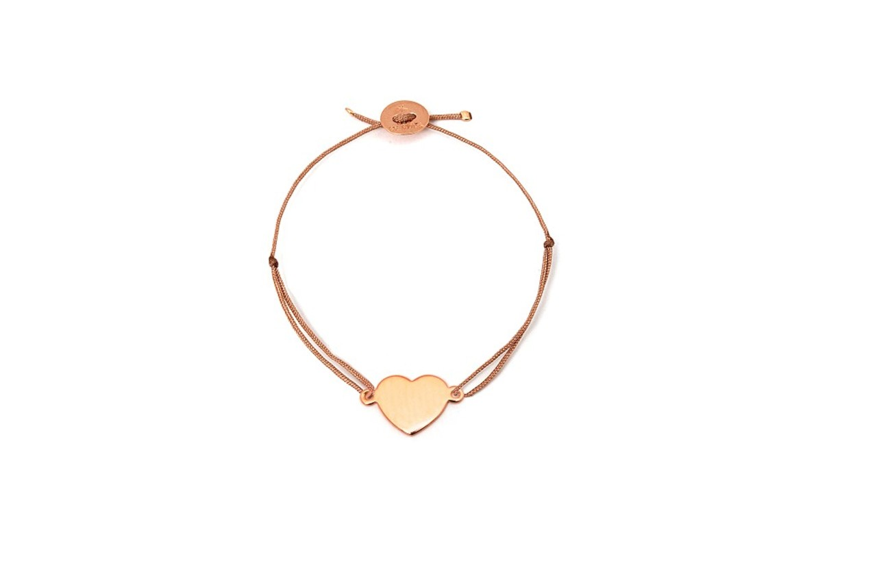 See by Star Herz Armband rose